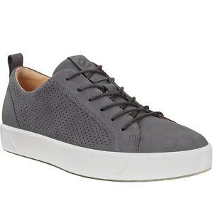 Ecco Mens Soft 8 Leather Casual Fashion