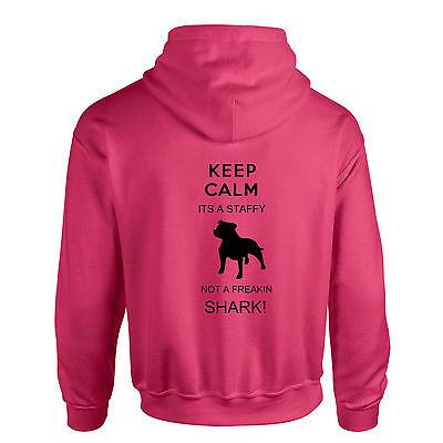Gelernt Staffordshire Bull Terrier, Staffie,staffy Hoodie 100% Garantie