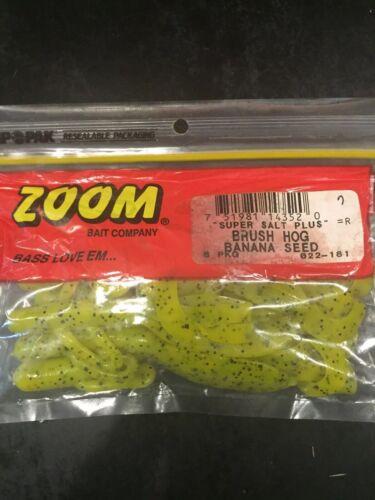 Zoom Salty Super Sel Plus Brush Hog-Banane-Graines