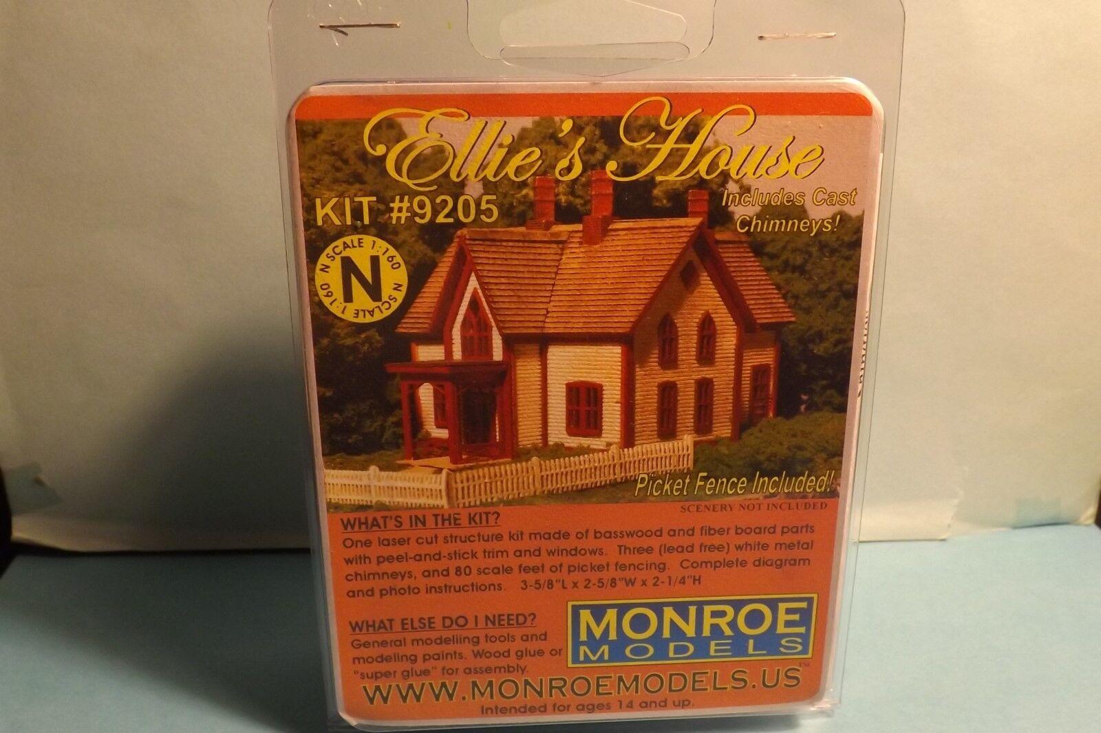 N SCALE  ELLE'S HOUSE MONROE MODELS