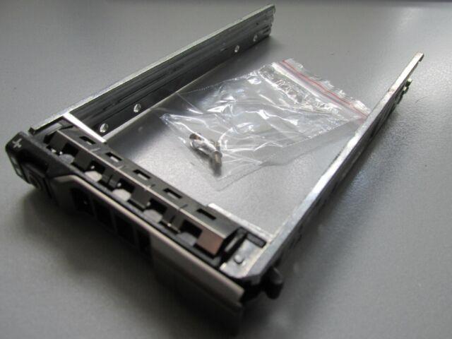 """Dell 2,5 """" SAS/SATA Hot Swap HDD Telaio / Caddy Di 08FKXC 0G176J, Nuovo Metallo"""
