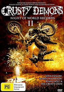 Details about Crusty Demons: Night Of World Records II - Extreme Sports /  Action - NEW DVD