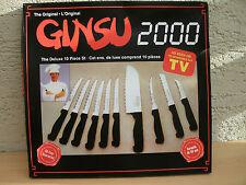 Ginsu-Messer Set 10 tlg.  verschiedene Messersorten Neu und OVP