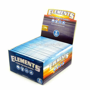 Elements-King-Size-Rolling-Paper-20-PACKS-Natural-Ultra-Thin-Rice