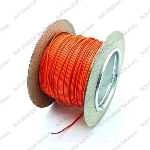 1mm automotive marine auto câble 16,5 amp thinwall toutes les longueurs et couleurs