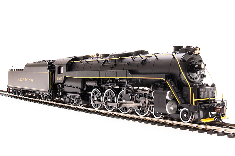 Broadway Limited 5773 Reading T1 4-8-4 Iron Horse Horse Horse Rambles Excursion, Sound DCC 331f90