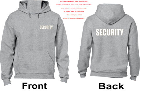 3066 Security Hoodie Event Protection