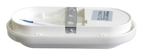 LED OVAL IP65 Kellerleuchte Kellerlampe Feuchtraumleuchte 20W 1460 Lumen Weiß