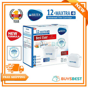 12-X-BRITA-Maxtra-Plus-Water-Filter-Jug-Replacement-Cartridges-Refills-UK-Pack