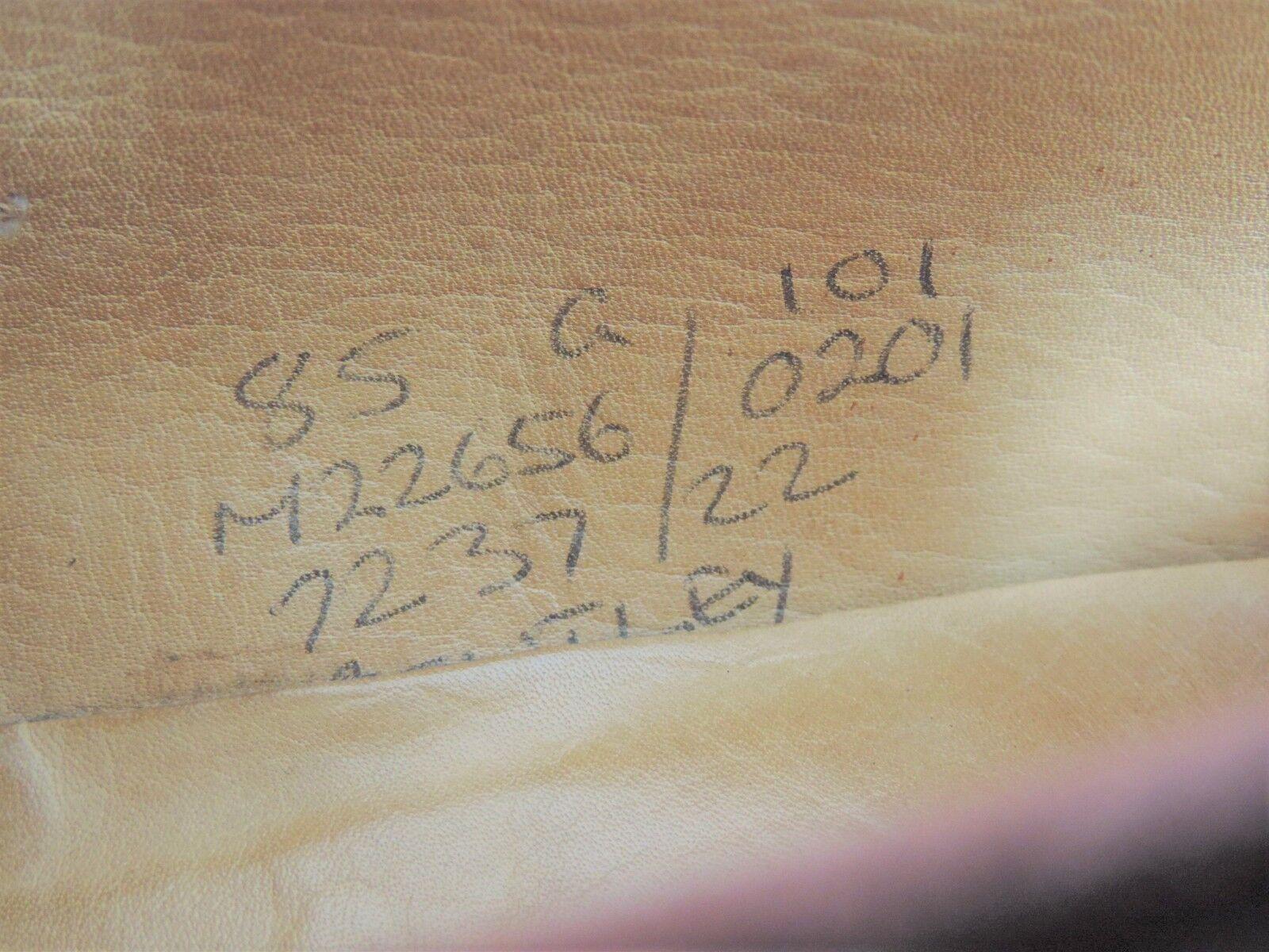 Church's Veloursleder Pennyloafer UK 8.5 G Breit Breit Breit Us 9,5 Eu 42,5 Grade Minor Use 8831b3