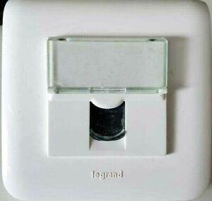 Legrand 078681 Prise RJ45 Mosaïc internet Cat 5e FTP 9 contacts blanc