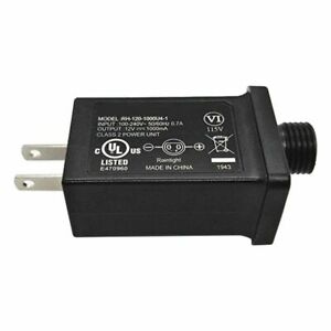 12 V 1 A Class 2 power supply, DEL transformateur de remplacement pour appareil-USA