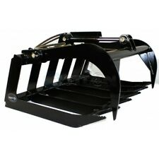 Titan Attachments Grapple Bucket For Skid Steer 48 Universal 3000 Psi Cylinder