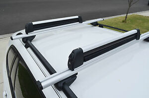 Image Is Loading Alloy Fishing Rods Carrier Holder Roof Rack Lockable