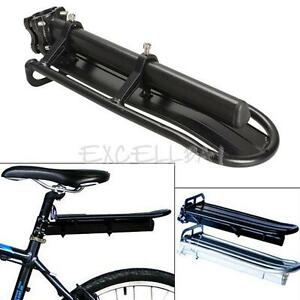 Rear-Carrier-Rack-Seat-Shelf-Mountain-Cycling-Bike-Road-Bicycle-Black-E0Xc