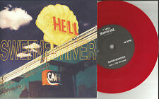 SWERVEDRIVER Hitcher w/ 2 UNRELEASED TRX LIMITED RED 7 INCH Vinyl 2008 USA