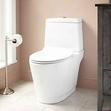 Signature Hardware Kenos Dual Flush Two Piece Siphonic Toilet