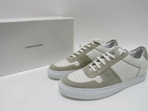 Common Projects Bball Low White Leather