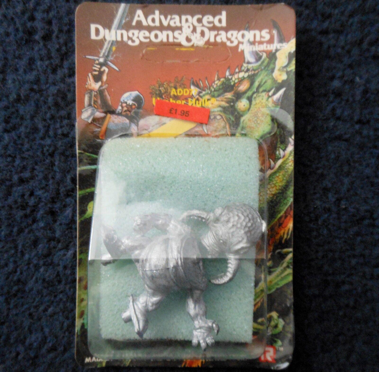 1985 add77 umber hulk v1 advanced dungeons & dragons games workshop ad & d tsr mib