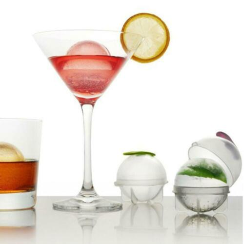 DIY Whisky Cocktail Drinking Wine Tray Ice Cube Ball Mold Sphere Ice Maker Molds