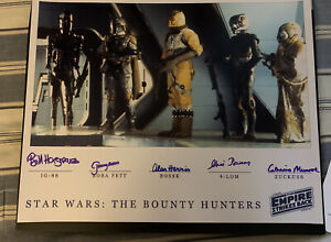 Star-Wars-Bounty-Hunters-Signed-16x20-Photo-Beckett-BAS-Empire-Strikes-Back