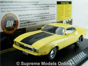 Details about MUSTANG MACH 1 GONE IN 60 SECONDS MODEL CAR 1:43 SCALE  ELEANOR SIXTY T3412Z