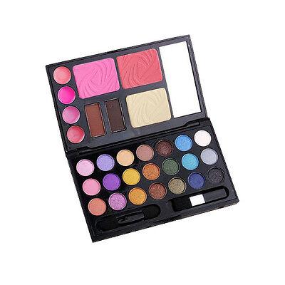 Eyeshadow Makeup Kit Cosmetics Palette Lip Gloss Foundation Powder Blusher Set