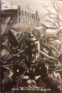 Batman Noel by Lee Bermejo DC Comics Graphic Novel Joker Christmas Hardcover DJ