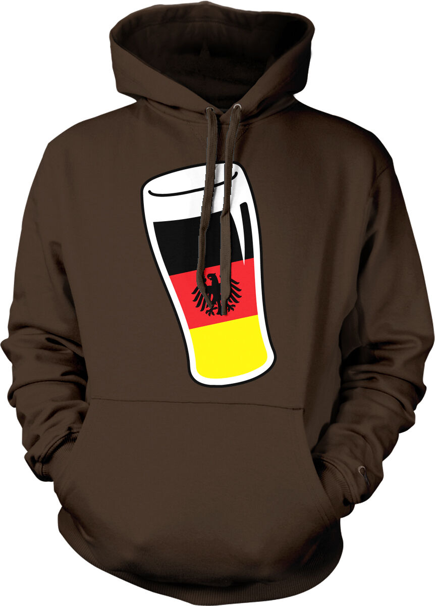 Germany Pint Beer Glass Flag Oktoberfest Bavaria Prost Mug DEU Hoodie Sweatshirt