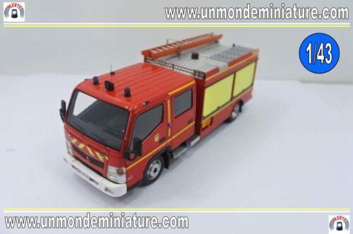 Echelle 1//43 AL 0071 Mitsubishi Fuso Canter Gimaex FPTL ALERTE