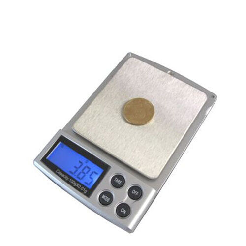 100x 0.01g Digital Pocket Jewelry Scale Testing Test Diamond Food Gold gram BLS