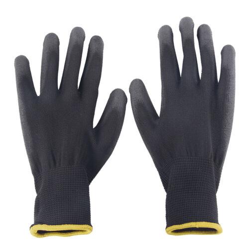 24PCS Non-slip Anti-static Nylon Gloves Safety Work For Mechanic Garden Builder
