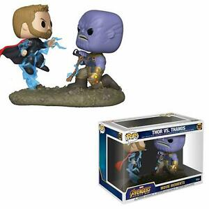 Funko-Pop-Movie-Moments-Marvel-Vengadores-Infinito-Guerra-Thor-Vs-Vinilo-figura-Thanos