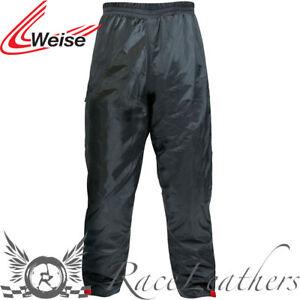 b3f2239f505b Caricamento dell immagine in corso Weise-W-Tex-Pantaloni -Pioggia-Moto-Motocicletta-Protezione-