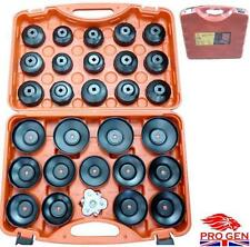 UNIVERSAL 30PC OIL FILTER REMOVAL WRENCH CAP CAR GARAGE TOOL SET CUP SOCKET