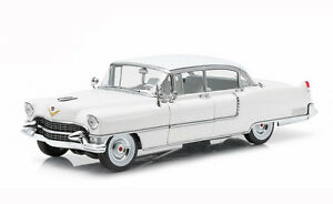 Greenlight-1955-Cadillac-Fleetwood-Series-60-White-1-18