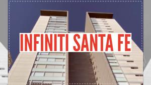 Departamento Amueblado en  Infiniti Santa Fe
