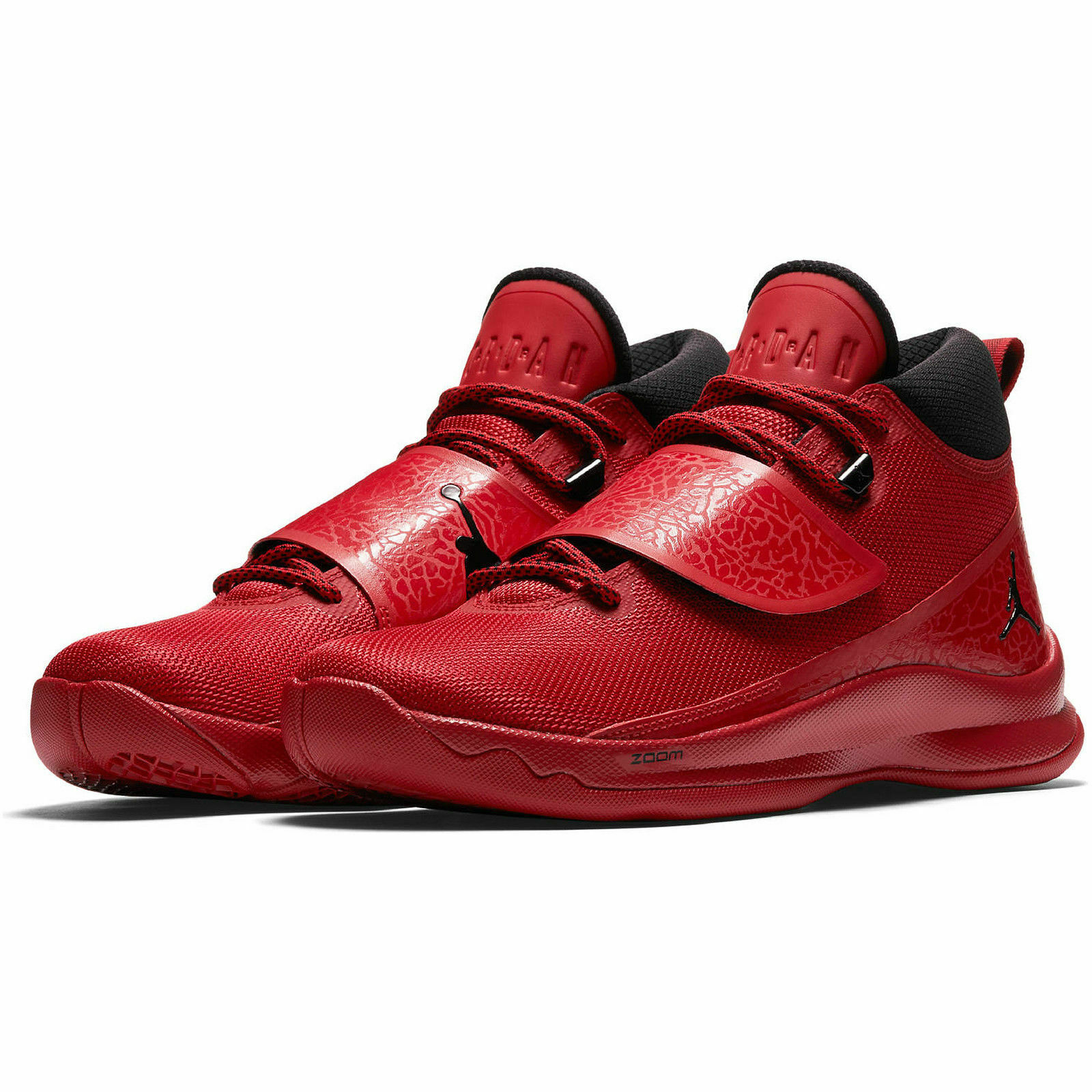 NEW  Nike Men's Jordan Super Fly 5 Basketball shoes Gym Red Black Size 17  51.5