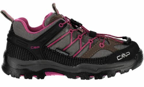 CMP Rigel Low Enfants Basket Randonnee Chaussures De Loisirs 3q54554//j-09pc Gris Nouveau