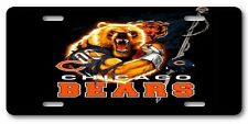 Chicago Bears Cool Funny All Aluminum Vanity License Plate Tag  Gift Item Look!