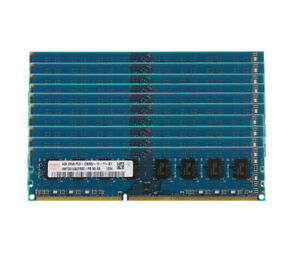 10pcs-Hynix-4GB-2Rx8-PC3-12800-DDR3-1600MHZ-240PIN-DIMM-Desktop-Memory-RAM-40G