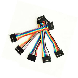 10pcs-8pin-10cm-Dupont-Wire-Color-Jumper-Cable-2-54mm-Female-Female-For-Arduino