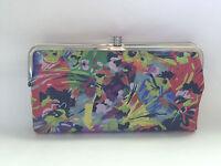 Hobo International Lauren Vivid Garden Leather Frame Clutch Wallet