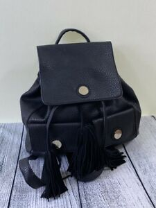 NEXT-black-faux-grained-leather-rucksack-backpack-with-tassle-drawstring