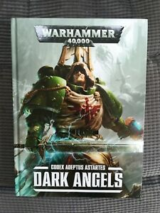 Warhammer 40,000 40K: Codex Adeptus Astartes Dark Angels Hardback