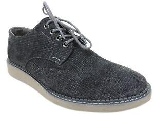 76d2449d3e2 TOMS Men s Brogue Castlerock Grey Plaid Textile Casual Oxford Shoes ...