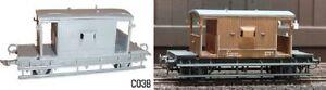 Dapol-C038-20-Ton-BR-Goods-Brake-Van-00-Gauge-New-Plastic-Kit