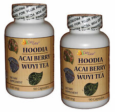 Curease Hoodia Gordonii Acai Berry Extract Wuyi Wulong Tea