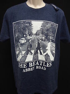 Image Is Loading Beatles Abbey Road Vintage Wash Tee T Shirt