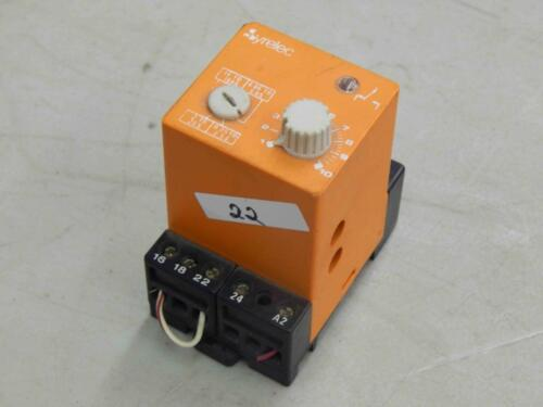 #22 Syrelec DAXR Relay 24V AC//DC Multirange DIN Rail Mount Timer